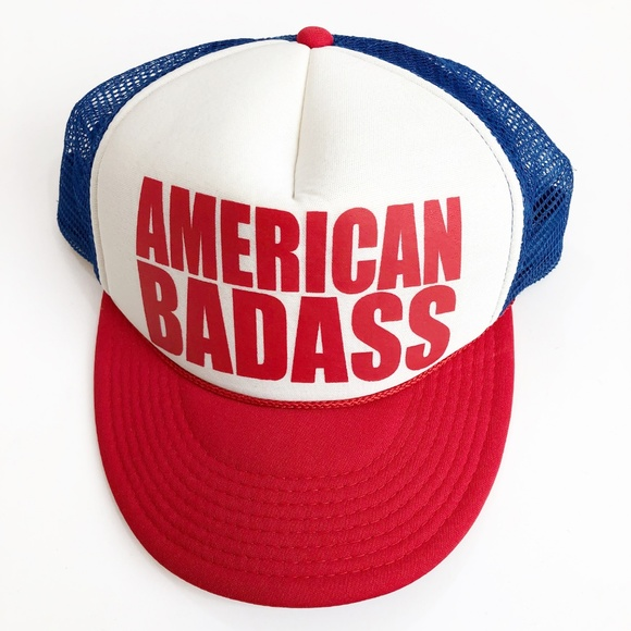 d0a1b1c82 American Badass | Kid Rock Trucker Hat w/ Snapback